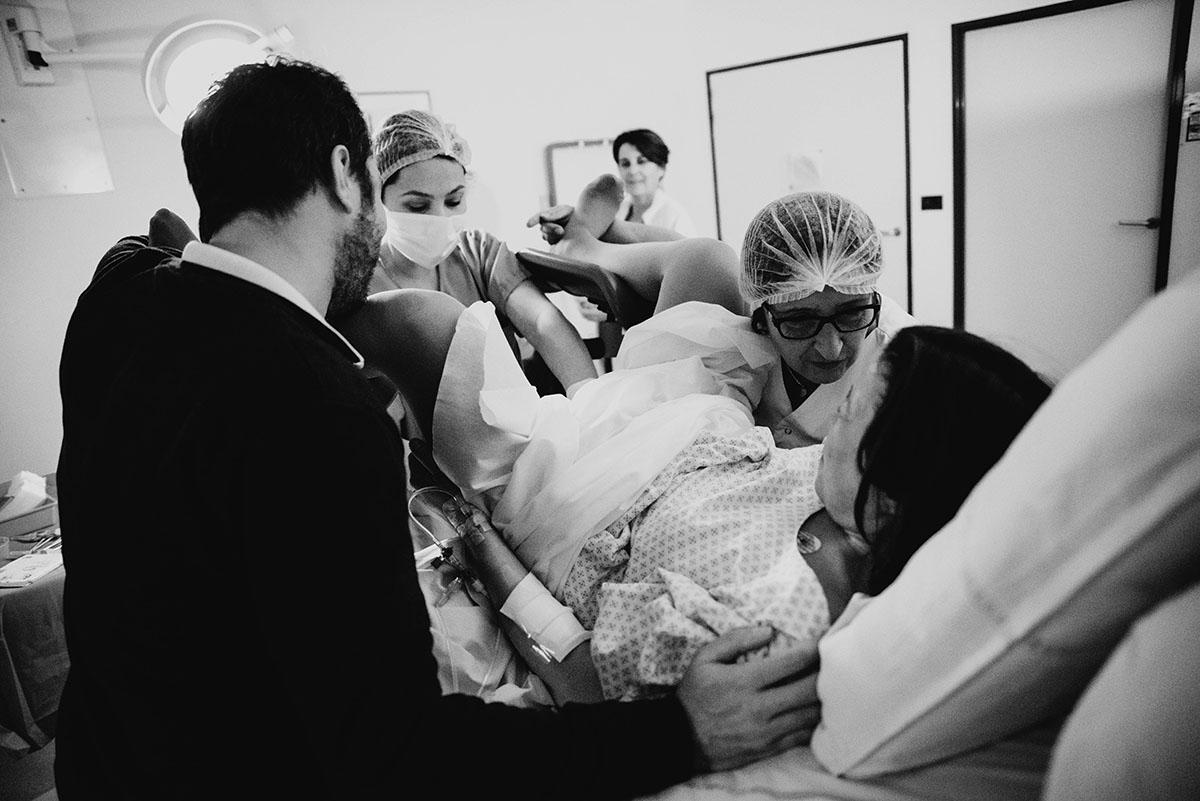 reportage photo d'accouchement